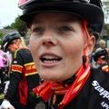 Adelaar met veel rensters in criteriums